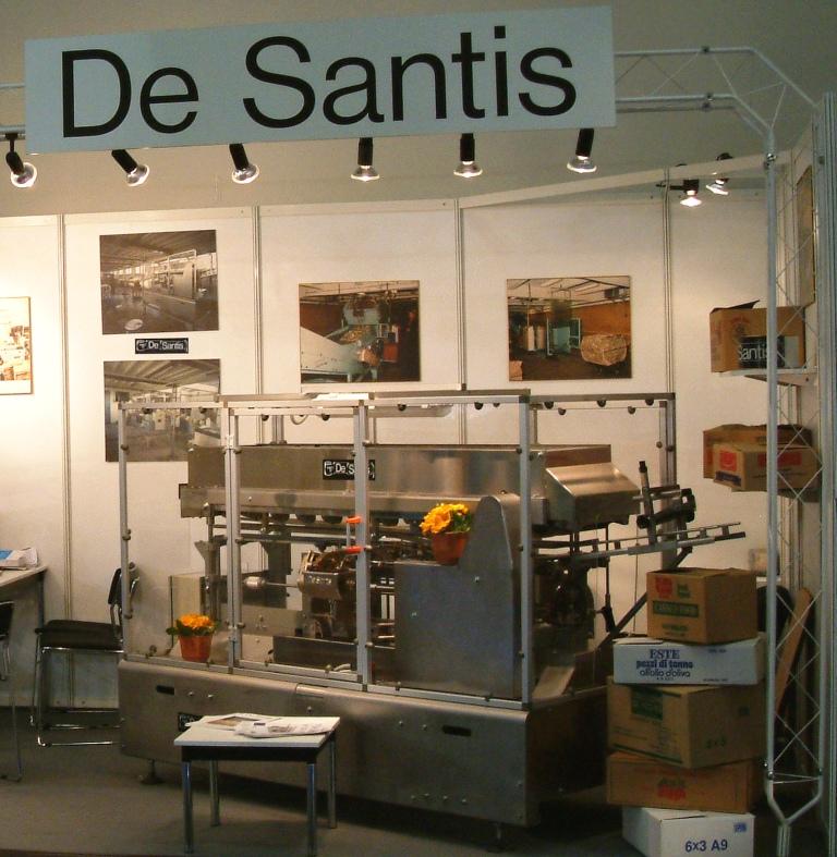 Costruita nel 2006, è stata esposta a Colonia in occasione della Fiera internazionale ANUGA FOODTEC