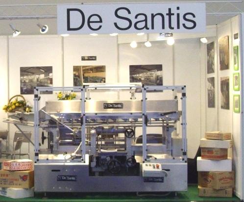 Costruita nel 2009, è stata esposta a Colonia in occasione della Fiera internazionale ANUGA FOODTEC 2009